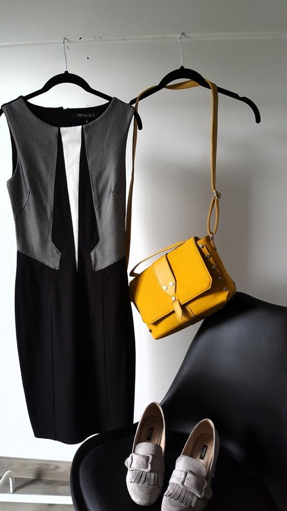 Sukienka geometryczna S...