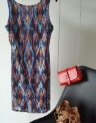 Sukienka kolorowa S...