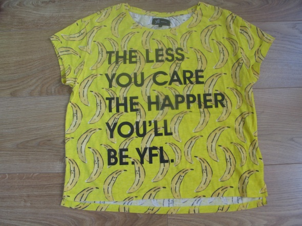Bananowa bluzka YFL