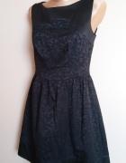 Czarna sukienka PRETTY GIRL rozm L...