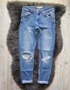 Topshop spodnie boyfriend dziury lucas 36...