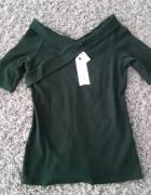 nowa bluzka butelkowa zieleń