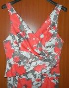 Sukienka kolorowa 42 i BOLERKO