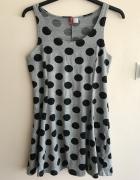 H&M sukienka w kropki