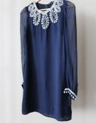 Sukienka mini z aplikacją FRENCH CONNECTION...