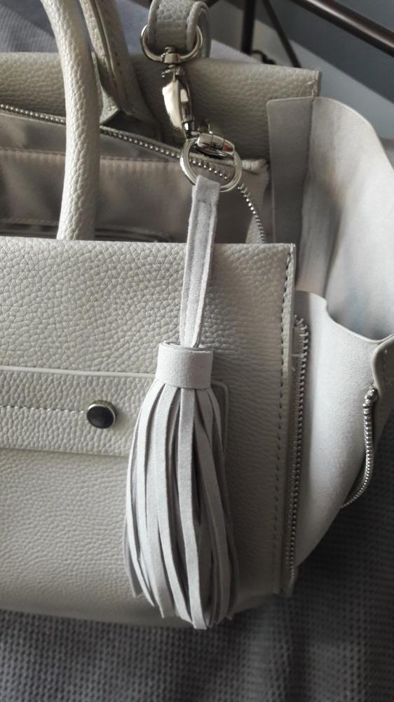 Torebka typu shopper bag siwa