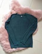 Ciemnozielony sweterek Pull&Bear