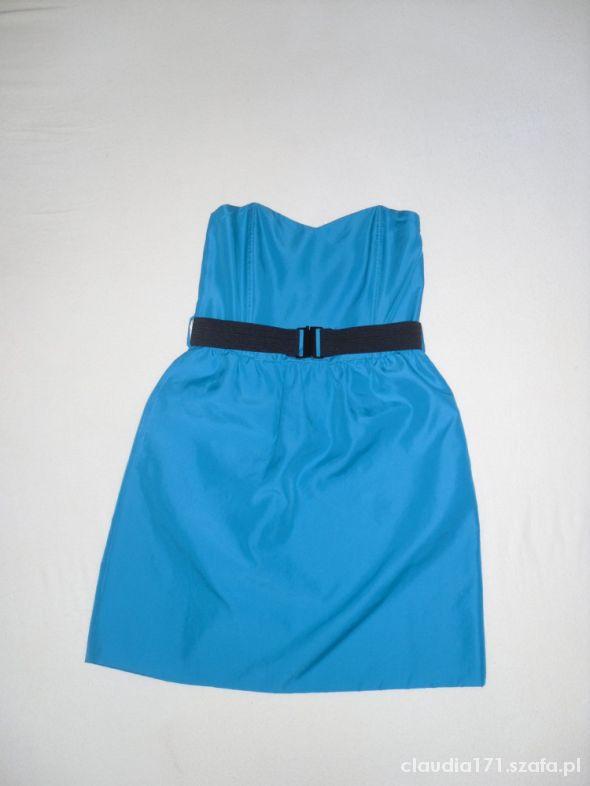 ZARA sukienka turkusowa jak nowa