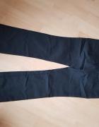 Czarne eleganckie spodnie Zara