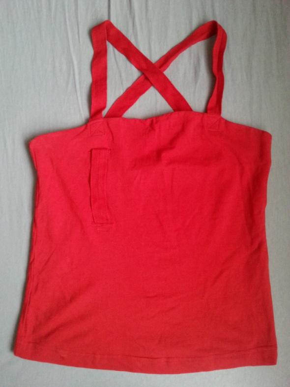 czerwona koszulka na ramiączkach Atlantic roz M...