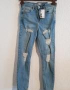 Spodnie topshop jamie...