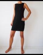 The Style London sukienka koronkowa czarna