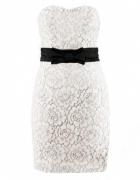H&M koronkowa sukienka kokarda 36 38 elegancka...
