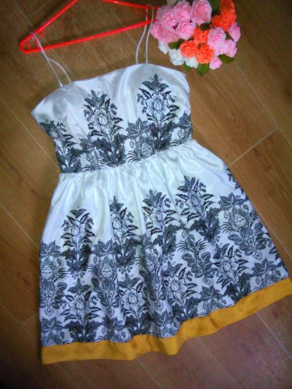 Jessica Howard rozkloszowana sukienka 40 L ornamen...