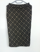 Długa uniwersalna spódnica brokat atmoshpere złoty
