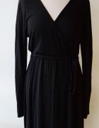 Sukienka H&M Basic Czarna L 40 Do Karmienia Elegancka...