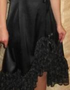 czarna sukienka suknia