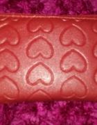 portfel serduszka czerwony...