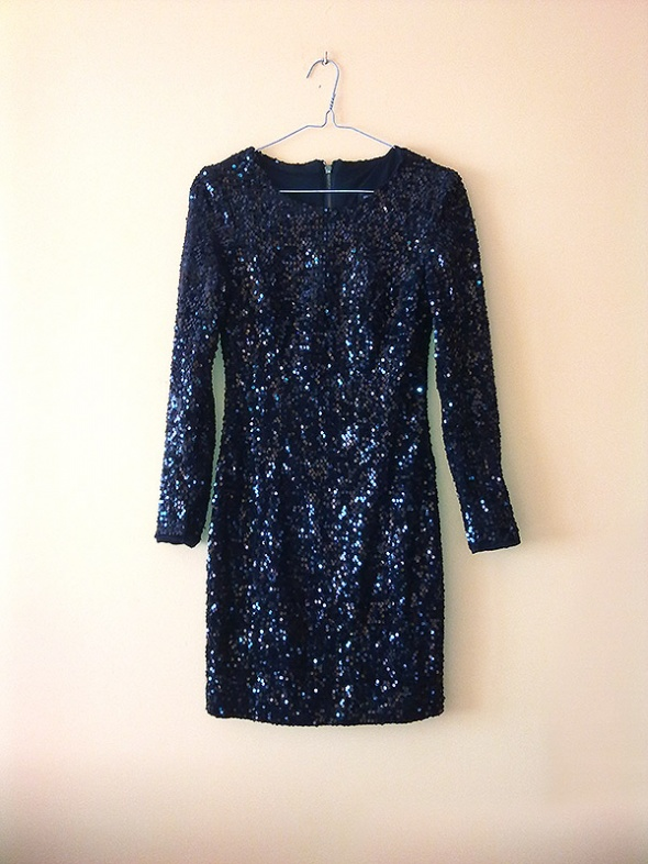 Suknie i sukienki Sukienka czarna cekinowa