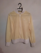 bluza adidas żółta siatka