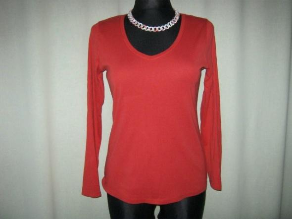 czerwona bluzka bawełniana...