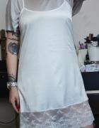 Koszula koszulka nocna sukienka bieliźniana M L 38
