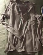 NOWY sweterek liliowy oversize S M L