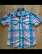 Męska koszula w kratę M