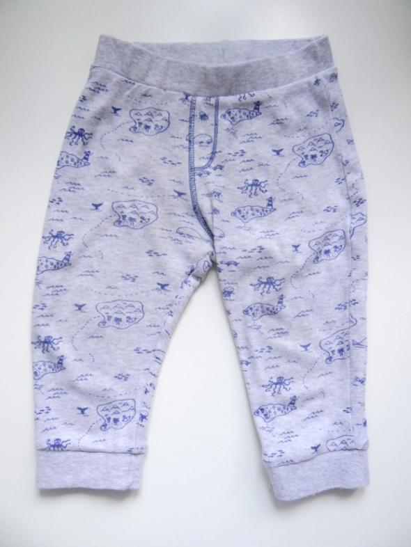 Szare dresowe spodnie rozmiar 86 F&F...