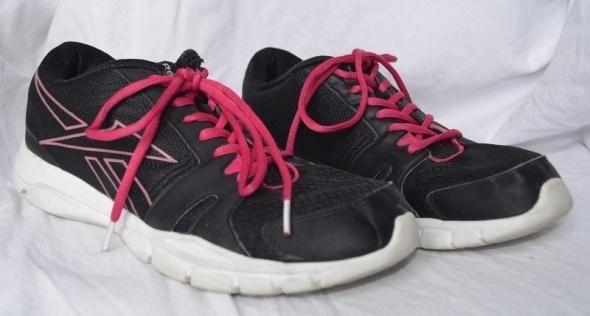 Czarne różowe buty sportowe Reebok 41...
