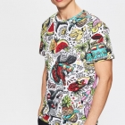 t shirt Cropp jungle