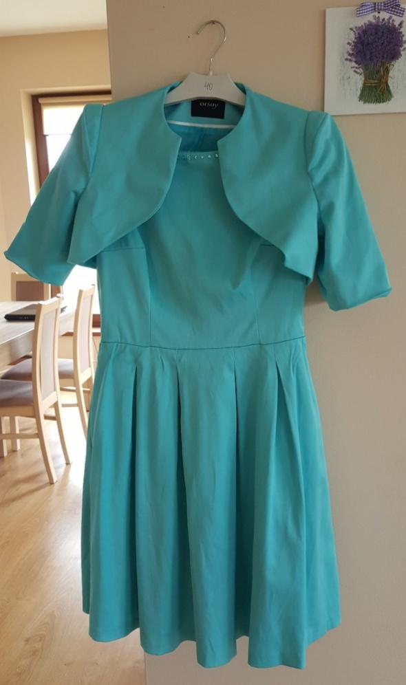 sukienka z bolerkiem orsay...