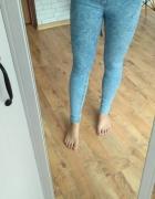 Marmurki tregginsy jeans rurki clockhouse