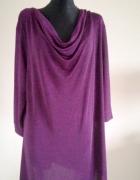 Sukienka z dekoltem typu woda 48 50 52