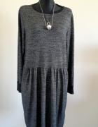 Świetna sukienka na chłodniejsze dni 46 48