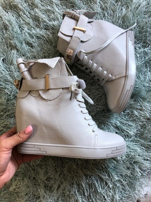 Sneakersy Szare Nowe 38