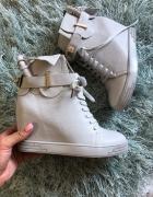 Sneakersy Szare Nowe 38...