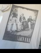 Topshop tshirt Nirvana koszulka z nadrukiem print...