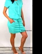 NOWA rewelacyjna sukienka tunika dresowa