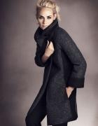 M&S wełniany płaszcz ombre modne wykłady