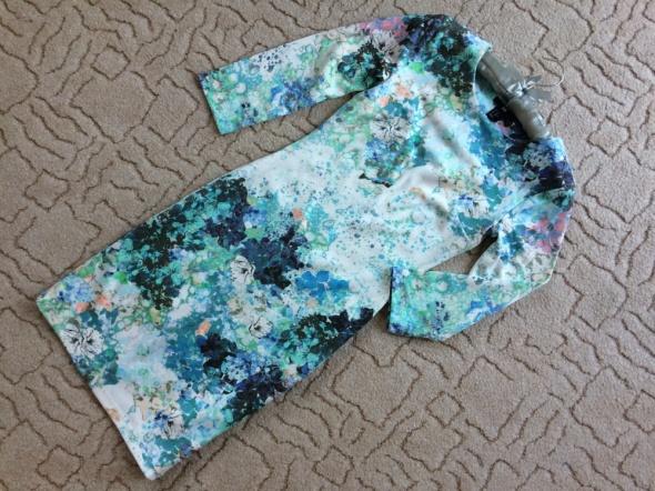 4087b42fc6 HM GENIALNA kwiecista sukienka print XS OKAZJA w Suknie i sukienki ...