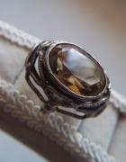 Orno srebro pierścionek