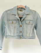 Topshop krótka kurtka jeansowa 38