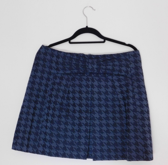 Marks & Spencer spódnica mini granatowa czarna 42...