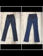 Spodnie jeansy ciążowe S HM Mango dwie pary