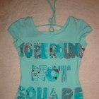 koszulka miętowa