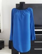 luzna niebieska sukienka Made in Italy
