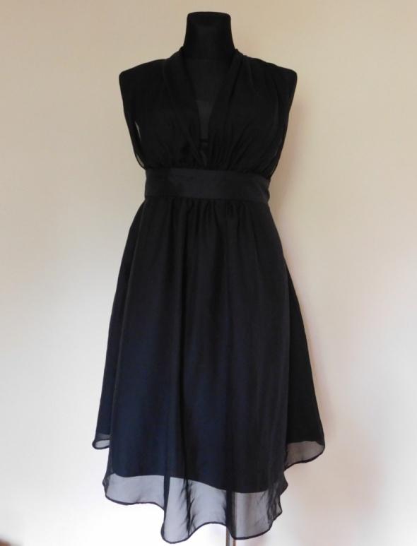 Donna Bella czarna sukienka 44 XL...