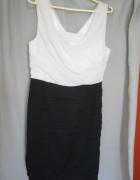 Czarno biała sukienka nowa...