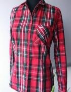 Koszula czerwona krata...